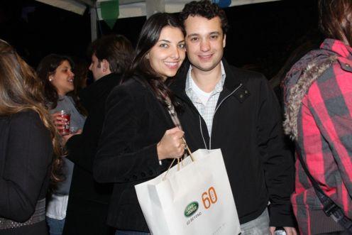 Adriana D'andrea e Ricardo Madeira