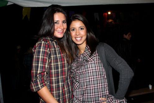 Camila Nuesen e Sabrina Moraes