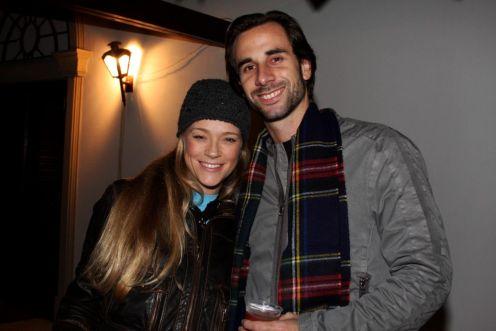 Cecilia Echenikue e Guilherme Peinciroli