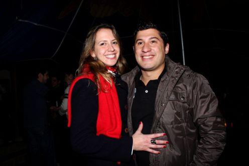 Gustavo Sampaio e Renata Regino