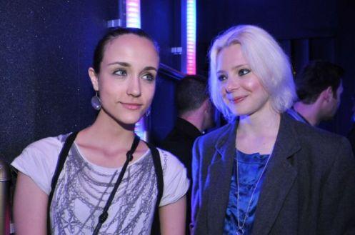 Ingrid Resing  e Aline Zen