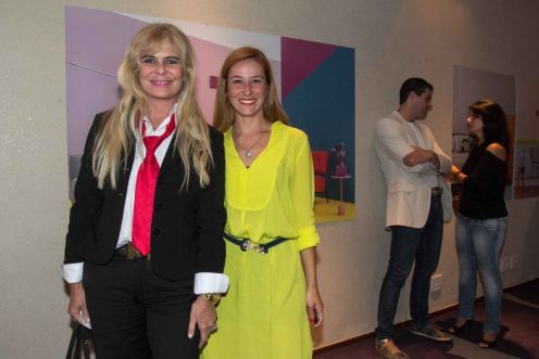 Bya Barros e Ana Kreutzer