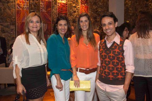 Cristina Amaral, Rosana Schmidt, Maria Fernnanda Piti, GustavoCalazans