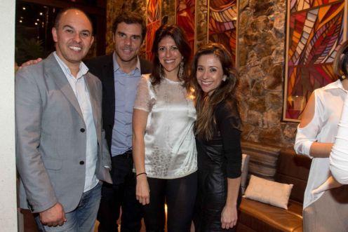 Edson Busin, Marcelo Balbieri, Taissa Buescu e Betina Gomes