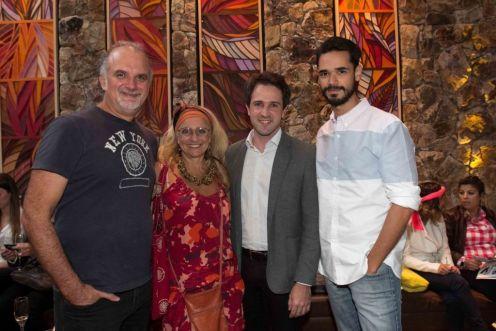 Eduardo Oliveira, Gina Elimelek, Kleber Carvalho, MuriloNogueira