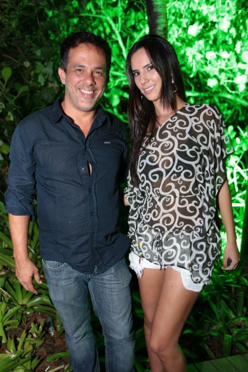Octavio Fagundes e Amanda Chang