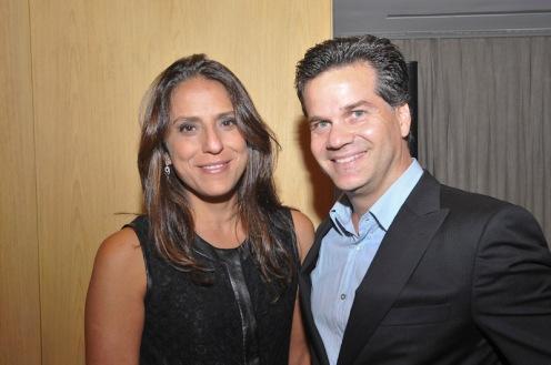 Aline Zarouk e Fernando Bonamico