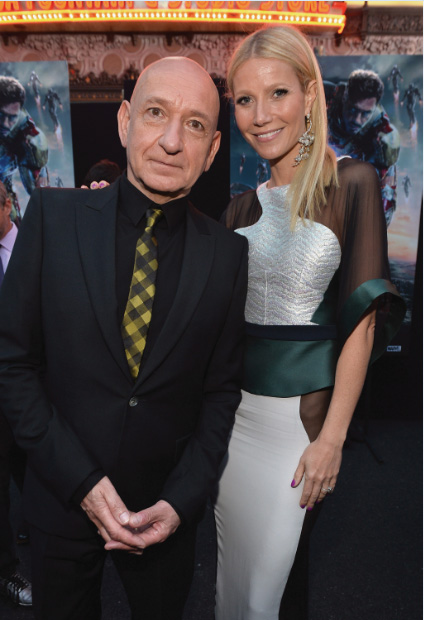 Ben Kingsley e Gwyneth Paltrow