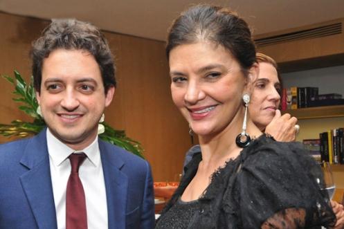 Carlos Jereissati Filho e Noemia d'Amico