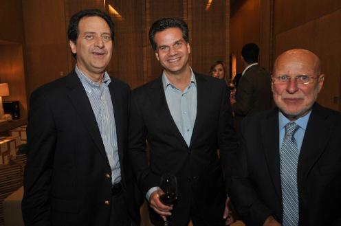 Charles Krell, Fernando Bonamico e Rui Ortiz