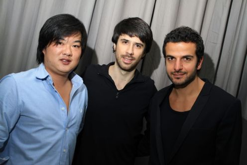 China, João Lee e Paulo Boghosian