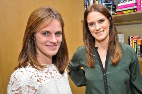 Erika Cordes e Kelly Cordes