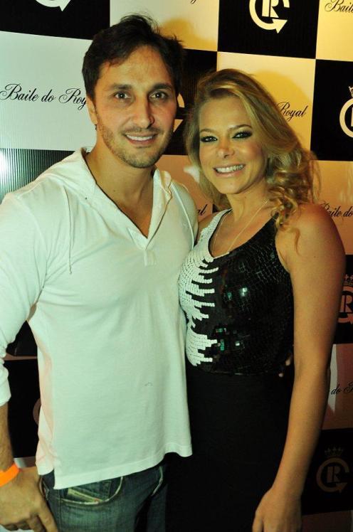Luiz Cugurra e Jackeline Petcovik