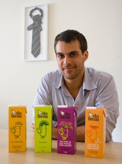 Marcos Leta - Fundador das bebidas do bem