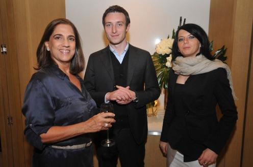 Maria Helena Sobral, Guillaume Gelly e Elodie Nemetz