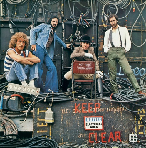 The Who: Who Are You Cover Shot 1978