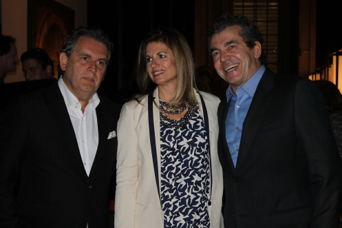 Angelo Derenze, Walkiria Derenze e Roberto Migotto