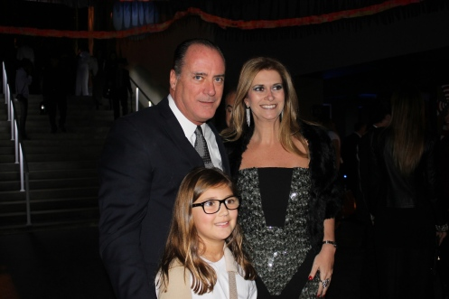Bob Krell, filha e Simone Goltcher
