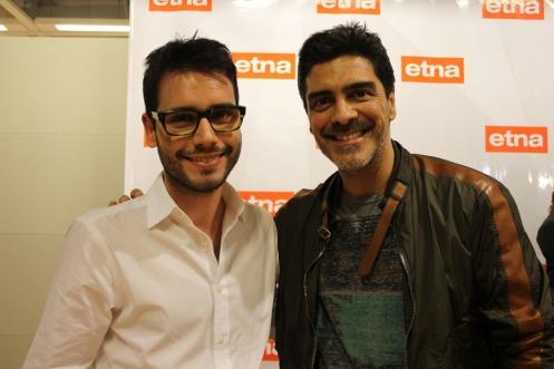 Bruno GAP, 28 (arquiteto) e Junno Andrade, 50 (ator, modelo e cantor)