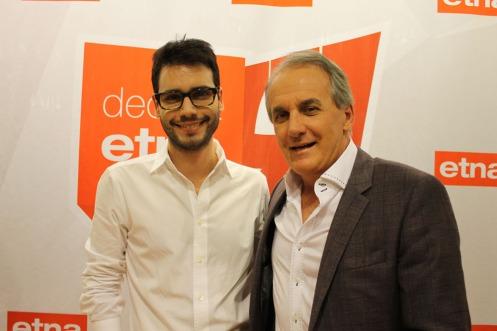 Bruno GAP, 28 (arquiteto) e Otávio Mesquita, 54 (apresentador)