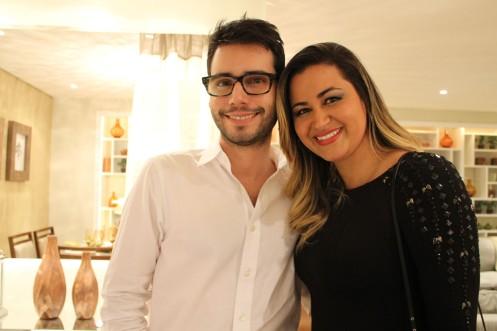 Bruno GAP e Sabrine Santos