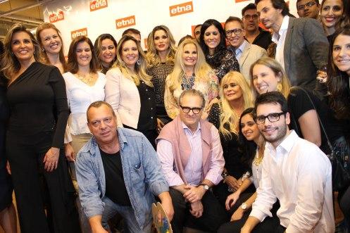 Bruno GAP, Flávia Alessandra e demais arquitetos participantes da mostra