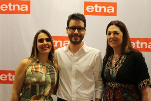 Daniela Velloza, Bruno GAP e Virgínia Velloza