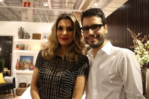Flávia Alessandra, 39 (atriz) e Bruno GAP, 28 (arquiteto)