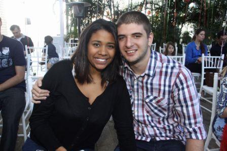 Isabelle Oliveira e Felippe Sawaia