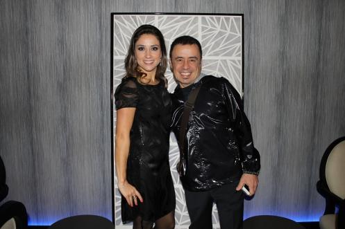 Mayra Lopes e Enrique Rodriguez