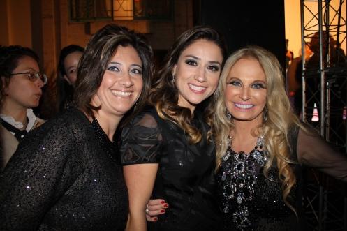 Roberta Rocino, Mayra Lopes e Brunete Fraccaroli