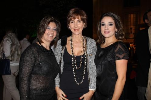 Roberta Rocino, Viviane Senna e Mayra Lopes