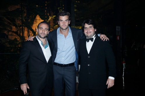 Daniel Nasser, Joao Bordon e Fabio Tutundjian 0639