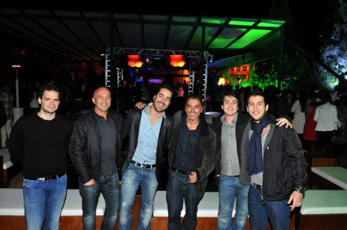Tiago Oliveira, Rinaldo Siqueira Campos, Oscar Rollemberg,Tuca Maia, Ivan Rollemberg e Antônio Venâncio. 1_resize
