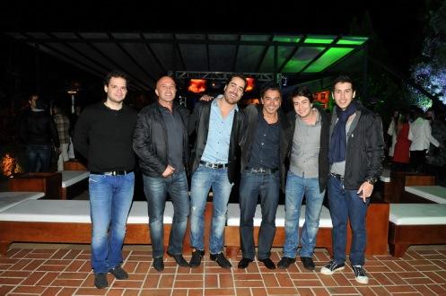 Tiago Oliveira, Rinaldo Siqueira Campos, Oscar Rollemberg,Tuca Maia, Ivan Rollemberg e Antônio Venâncio. _resize
