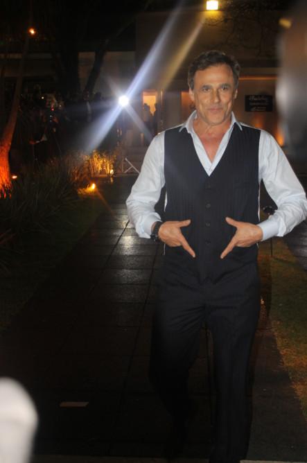 O ator Oscar Magrini