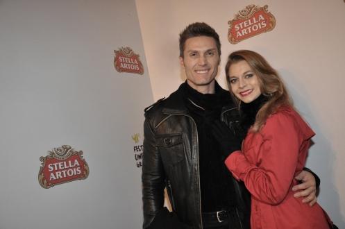 Andre Segatti e Daniela Becker