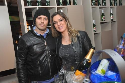 Eduardo Corti Real e Carol Corti