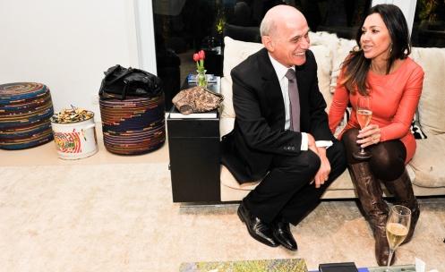 Ricardo Boechat e a mulher Veruska   PRF_2966