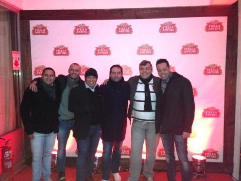 Vini Garcia, Eduardo Corte Real, Fernando Porto, Ricardo Leão , Rodrigo Lobo e Roberto Leão