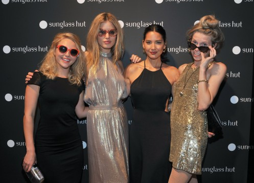 Sunglass Hut Times Square Opening Hosted by Georgia May Jagger