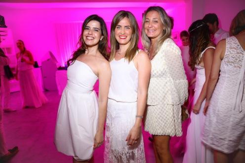 Christiane Cardoso, Paula Klotz e Claudia Pizzimenti