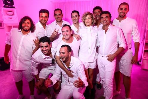 Os DJs Phllip A, Paulo Boghosian, Marcelo Nassi, Ali Dubfire,tINI, Seth Troxler, Raul Boesel, Elio Riso, Junior C e Loco Dice