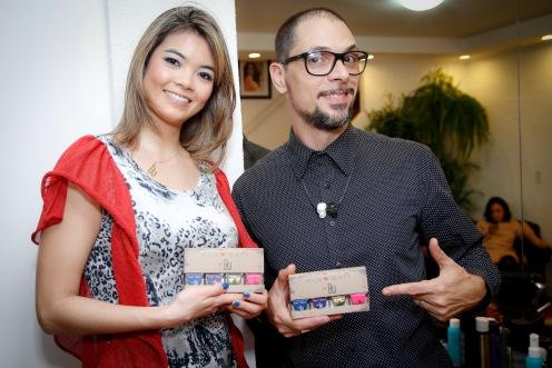 Clarise Ezaki e Ricardo dos Anjos,
