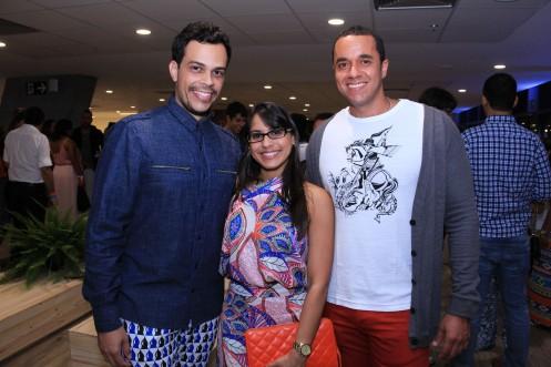 Gustavo Moraes, Luciana Rodrigues e Ricardo Martins_Foto by FabioPeixoto