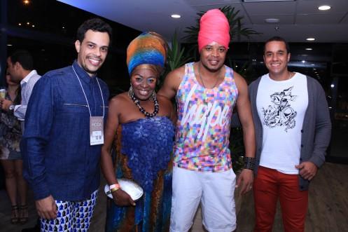 Gustavo Moraes, Negra Jhô, Afro Jhow e Ricardo Martins_Foto by Fabio Peixoto
