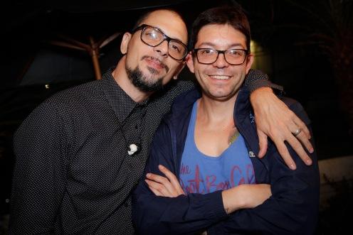 Ricardo dos Anjos e Roque Castro