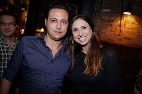 Rogerio Chaluppe e Vivian Haddad