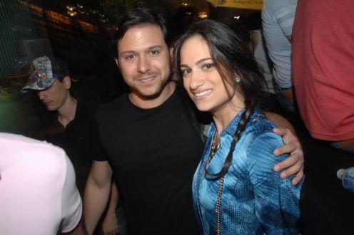 Diego Moura e Manoela Parente