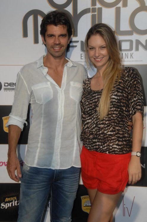 Fernando Luz e Tatiana Parreira